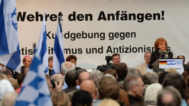 Kundgebung 'Wehret den Anfängen!'