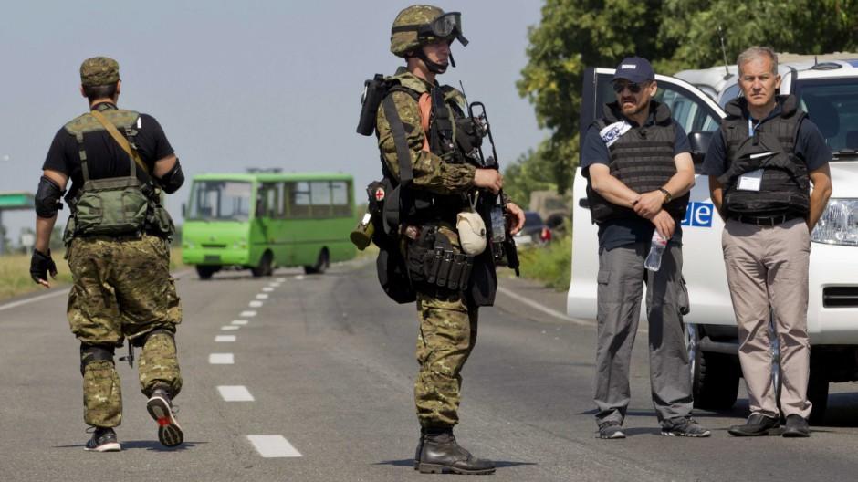 Prorussische Separatisten