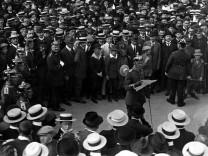 Mobilmachung in Berlin, 1914