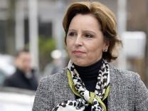 Christine Haderthauer CSU Staatsministerin und Leiterin der Bayerischen Staatskanzlei kommt am M