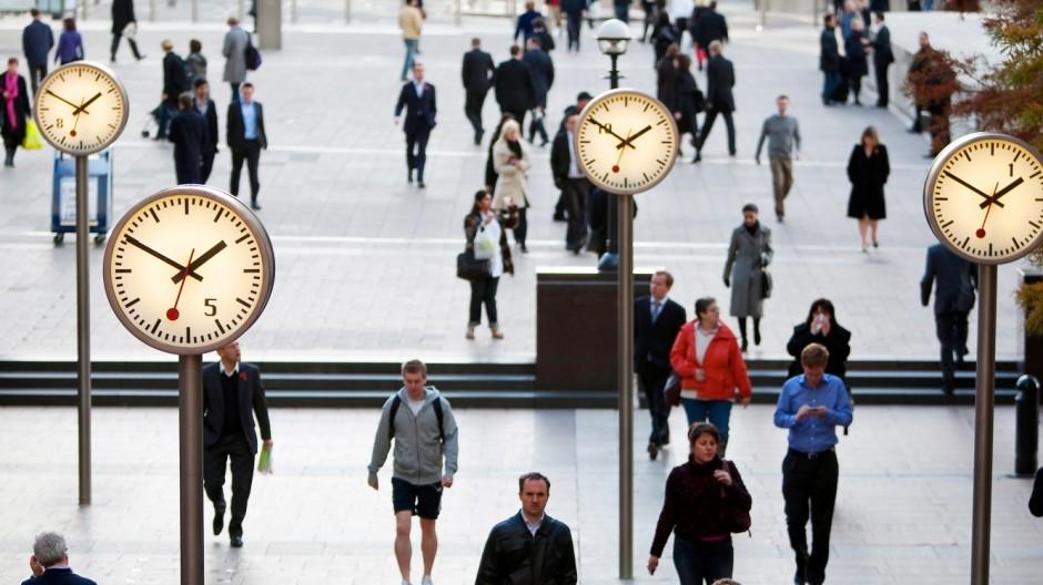 Pünktlich Notorische Zuspätkommer