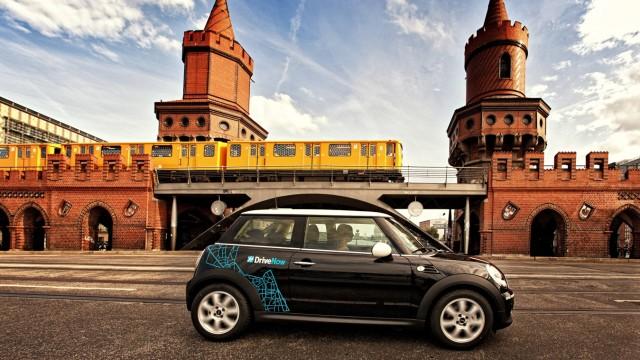 Drive now ist der Car Sharing Anbieter von BMW