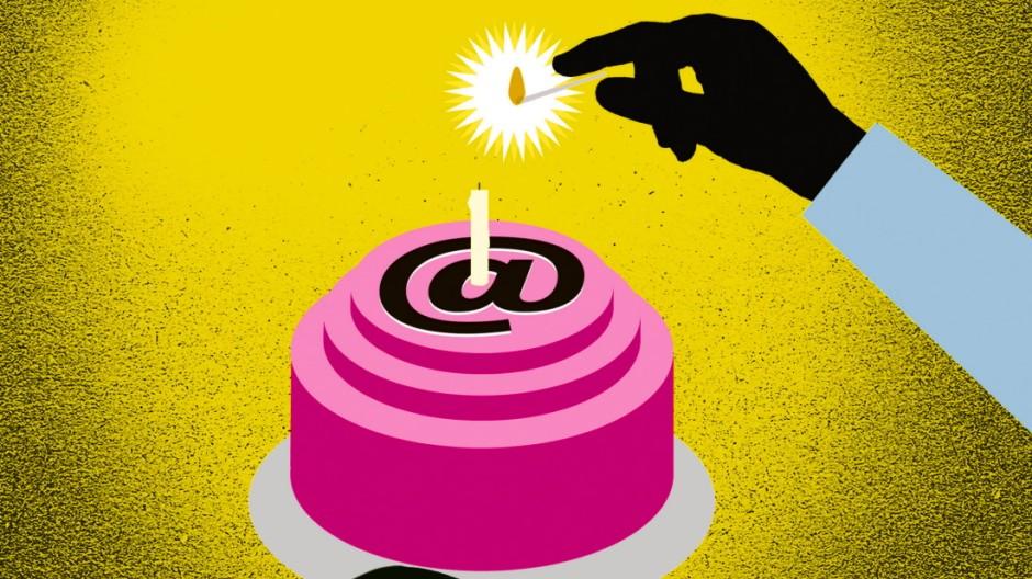 E-Mails 30 Jahre E-Mail in Deutschland