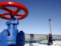Gas-Pipeline in Russland
