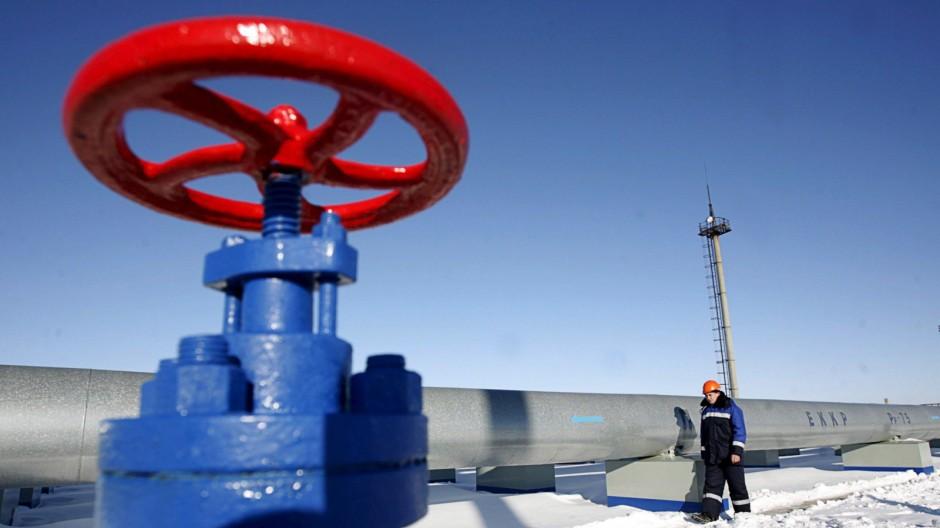 Gas-Pipeline in Russland