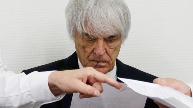 Formula One Chief Executive Ecclestone prepares for continuation of his trial in Munich