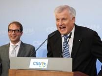 Horst Seehofer und Alexander Dobrindt, 2013