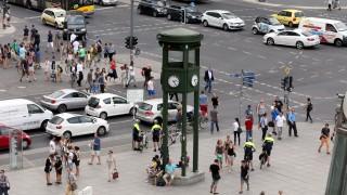 Nachbau von Berlins erster Ampel am Potsdamer Platz