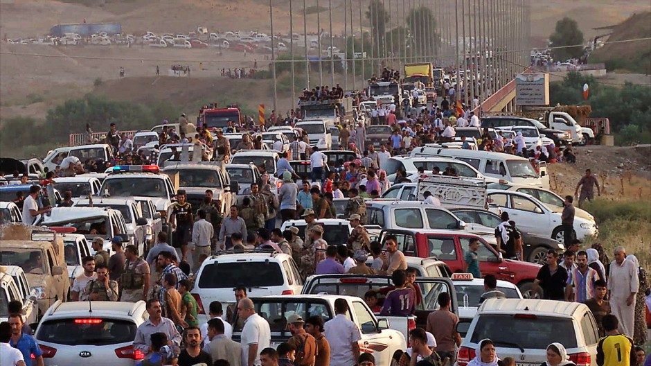 Irak Kämpfer des Islamischen Staats im Norden Iraks