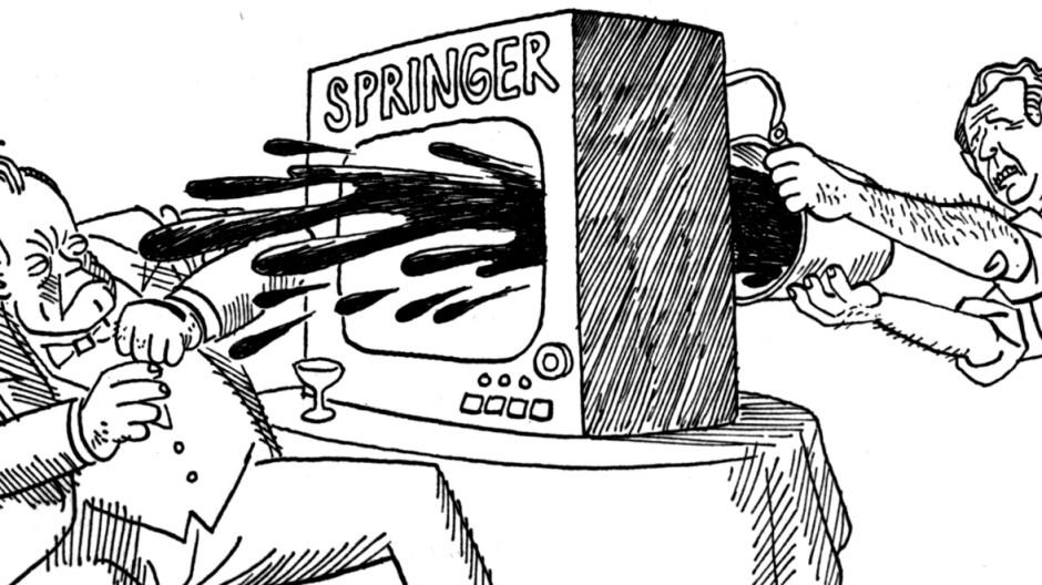 Karikatur Karikaturist Ernst Maria Lang