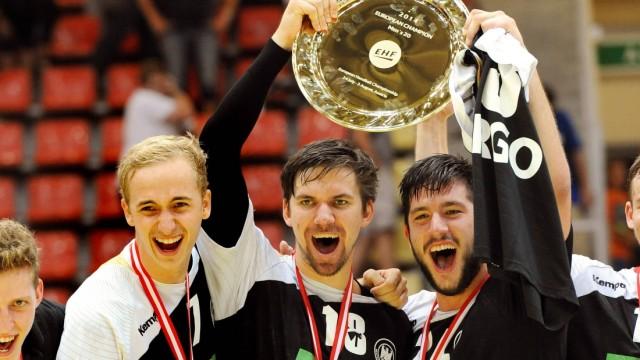 Linz Österreich 3 8 2014 Handball Europameisterschaft männliche Junioren U20 Finale Deutschland