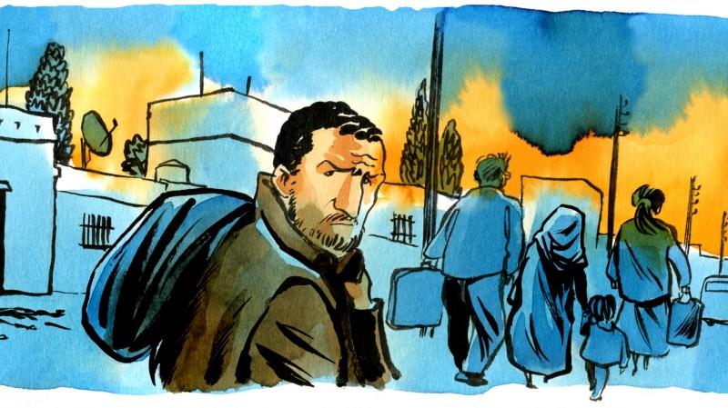 Comiczeichner Reinhard Kleist im Irak