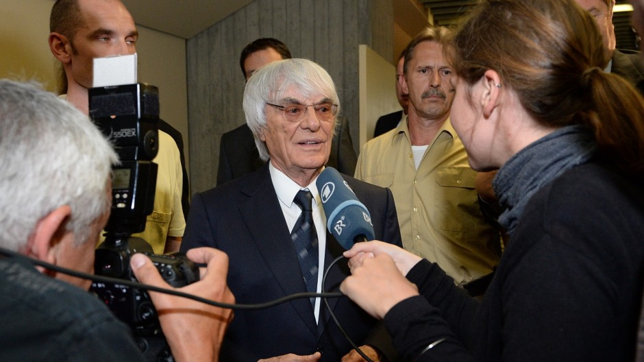 Ecclestone Seeks Settlement To End Trial