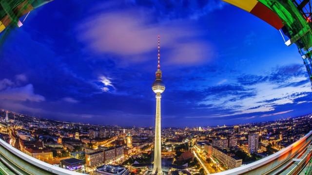 Berlin in der blauen Stunde