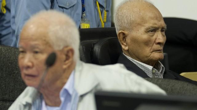 Greise Rote-Khmer warten auf ihr Urteil