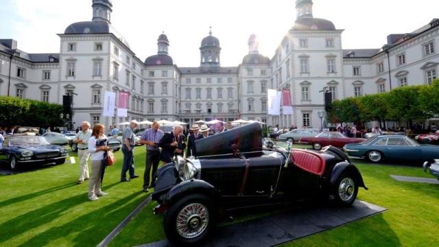 Oldtimertreffen Schloss Bensberg