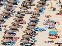 Strand von Magaluf, Mallorca, Spanien