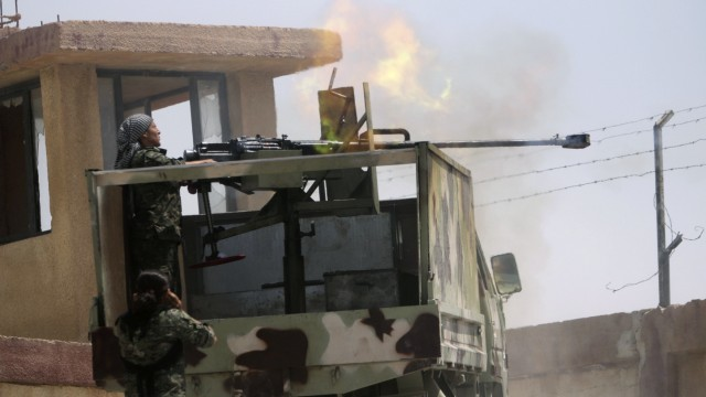 Kurden Irak Islamischer Staat USA