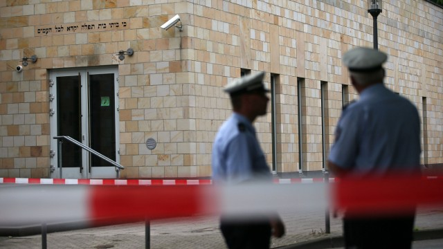 Brandsatz auf Synagoge in Wuppertal