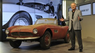 Der BMW 507 von Elvis Presley im BMW Museum München
