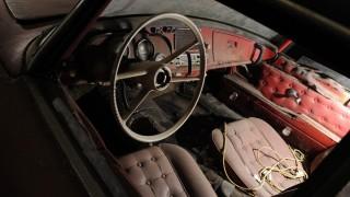 Innenraum des BMW 507 von Elvis Presley.