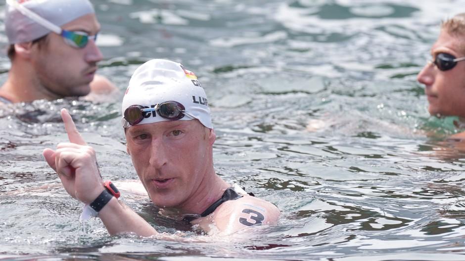 Schwimm-WM - Freiwasser