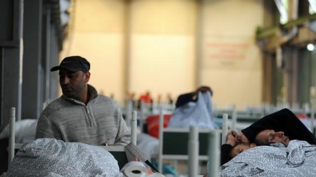 Bayernkaserne Flüchtlinge in der Bayernkaserne