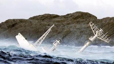 Gefahr für die Schifffahrt