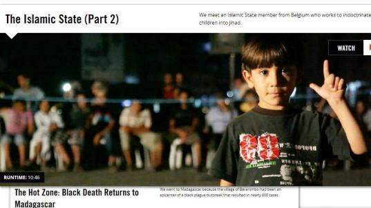 "Journalismus ""Vice""-Reportage über Terrormiliz IS"