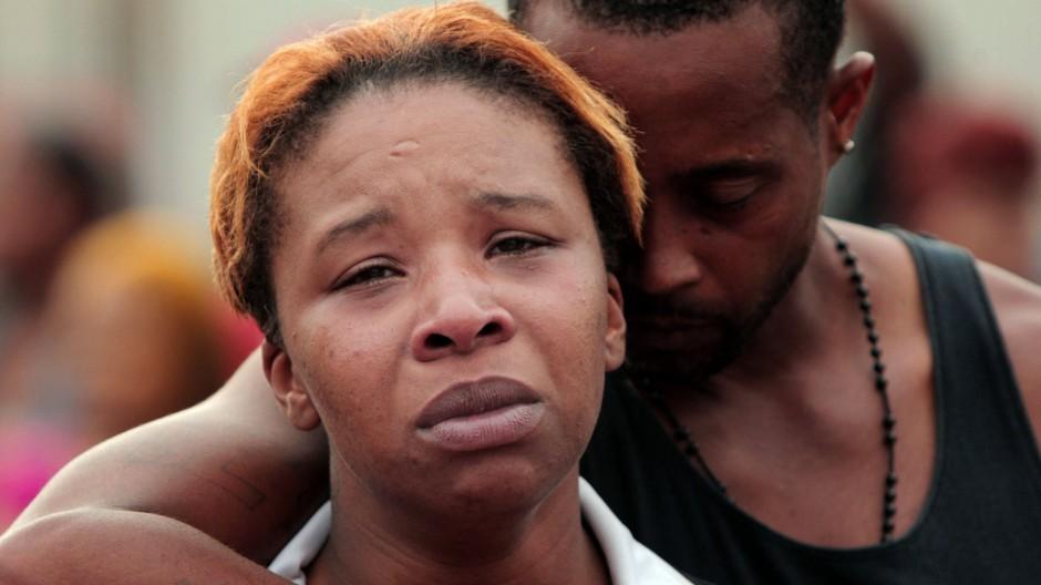 Kriminalität Tötung eine schwarzen Teenagers in Missouri