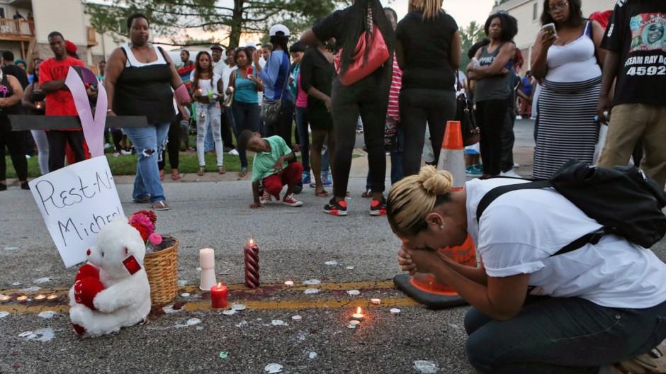 Kriminalität Tötung eines schwarzen Teenagers in Missouri