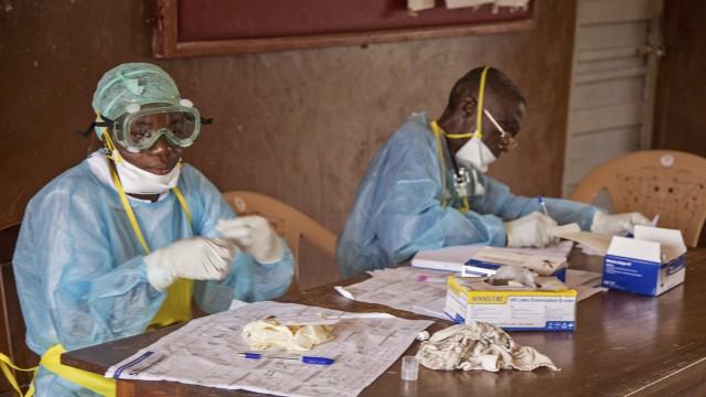 Politik Epidemie in Westafrika