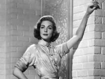 Hollywood-Schauspielerin Lauren Bacall im Jahre 1957