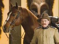 """Robin Williams als Teddy Roosevelt in """"Nachts im Museum""""."""