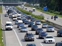 Stau nach Geisterfahrer-Unfall auf der A9
