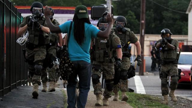 Michael Brown Proteste in Ferguson