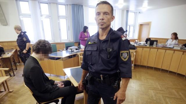 German defendant Josef S on trial in Vienna