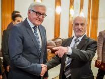 Außenminister Steinmeier im Irak