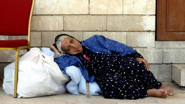 Christians forced to flee homes shelter in Erbil