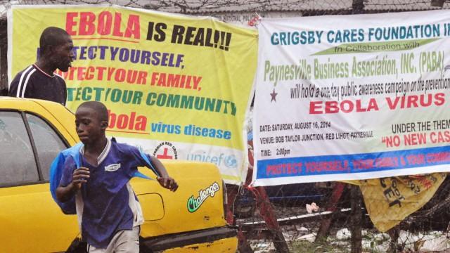 Ebola Ebola-Epidemie in Westafrika