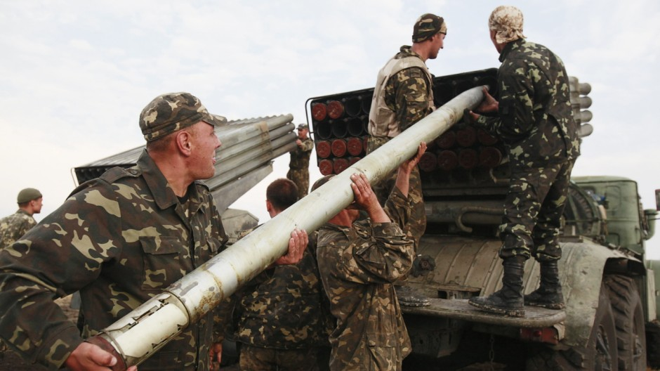 Ukraine im Umbruch Kämpfe in Ostukraine