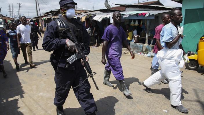 Liberia im Kampf gegen die Ebola-Epidemie