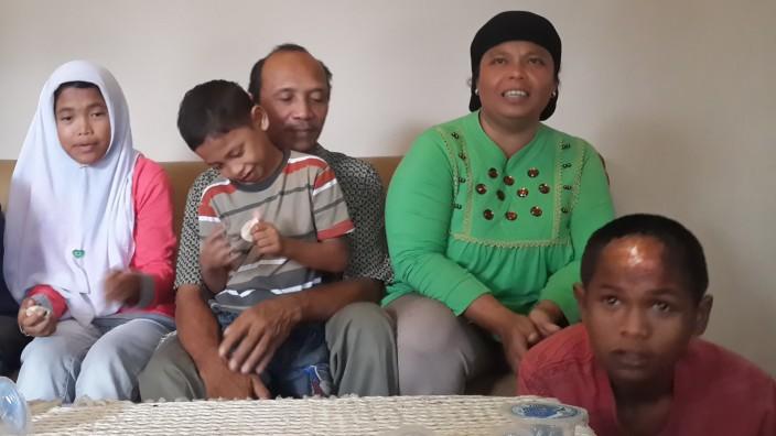 Nach Tsunami vermisste Kinder