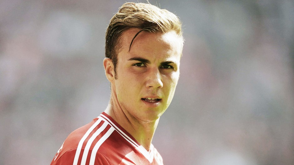 Bundesliga Mario Götze beim FC Bayern