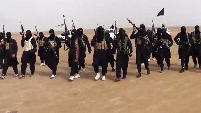 Terroristen der IS-Miliz