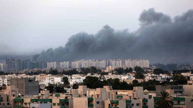 Fighting in Tripoli