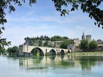 l'île de la Barthelasse de la ville d'Avignon