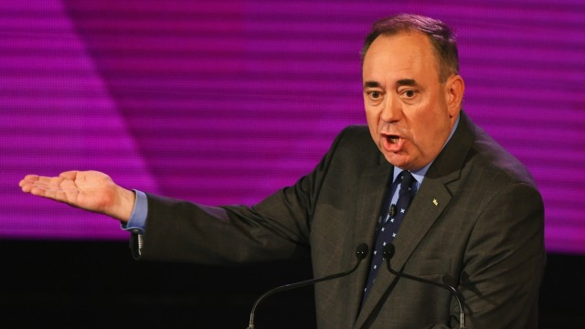 Second Television Debate Between Alex Salmond And Alistair Darling