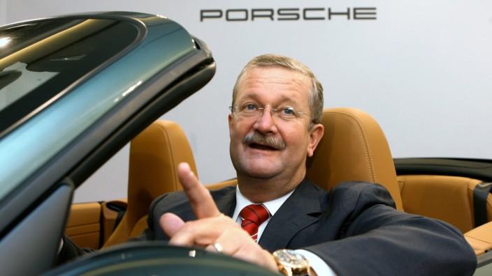 Porsche-Bilanz - Wiedeking