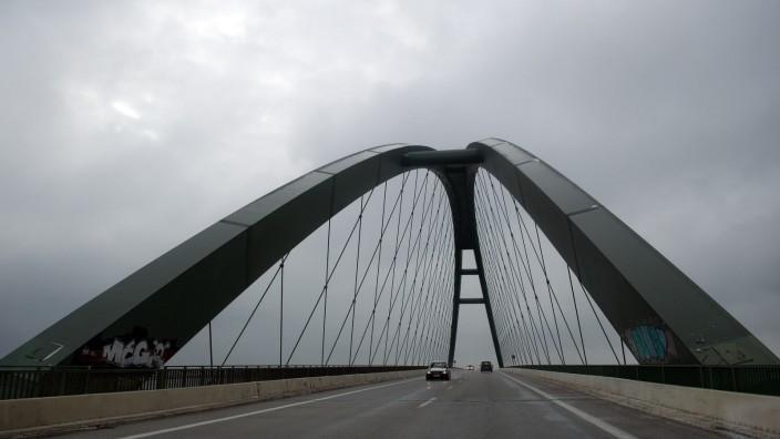 Fehmarnsund-Brücke in Schleswig-Holstein